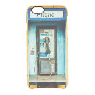 Pay Phone Booth Clear iPhone 6/6S Case