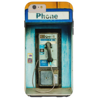 Pay Phone Booth Tough iPhone 6 Plus Case