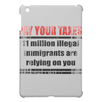 Pay your taxes Faded png iPad Mini Cover