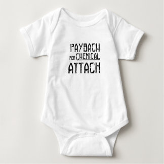 Payback For Chemical Attack Syria Refugee Baby Bodysuit