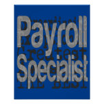 Payroll Specialist Extraordinaire Poster