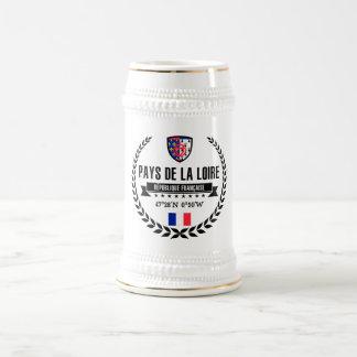 Pays de la Loire Beer Stein