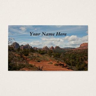 Paysage américain de sud-ouest cartes de visite