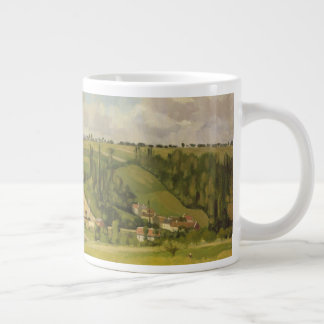 Paysage aux Patis, Pointoise Large Coffee Mug