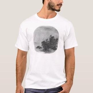 Paysage avec le buffle d'eau, dynastie de chanson t-shirt