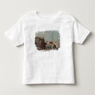 Paysage avec un canal tee shirts