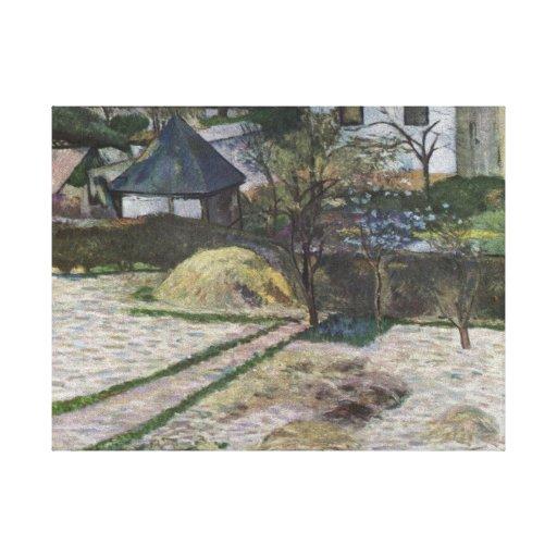 Paysage chez Osny - Paul Gauguin (1881) Impressions Sur Toile