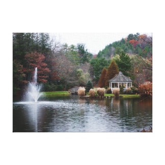 Paysage d'automne impression sur toile