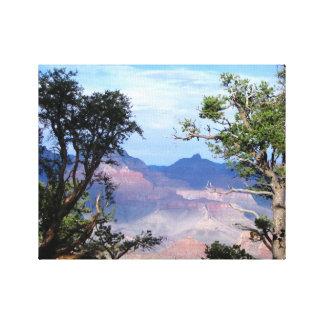 Paysage de canyon grand toile tendue