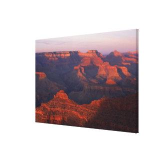 Paysage de canyon toiles