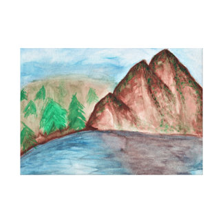 Paysage de montagne toiles