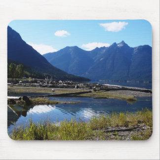 Paysage de nature de lac mountain tapis de souris