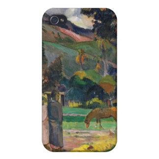 Paysage de Tahitian - Paul Gauguin Étuis iPhone 4