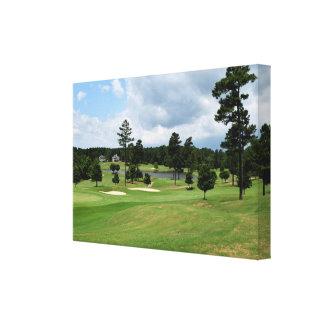 Paysage de terrain de golf toiles
