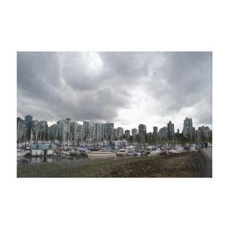 Paysage de Vancouver Impression Sur Toile