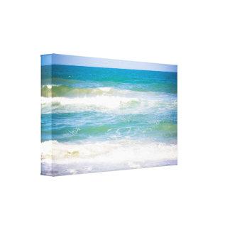 Paysage d'océan toile tendue