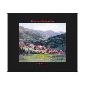 Paysage galicien/Galician landscape Impressions Sur Toile