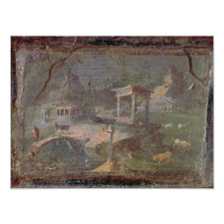 Paysage idyllique, de Herculanum, Posters