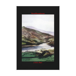 Paysage/Paisaxe/Landscape Impression Sur Toile