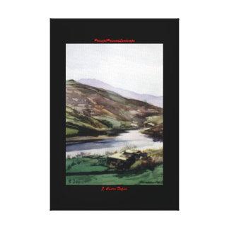 Paysage/Paisaxe/Landscape Toiles Tendues Sur Châssis