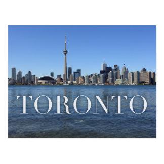 paysage urbain de Toronto Carte Postale