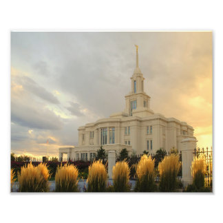 Payson Utah LDS Temple Photo Print