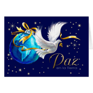 Paz en la Tierra. Spanish Christmas Cards