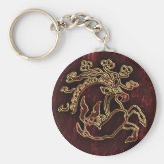 pazyryk animal keychain