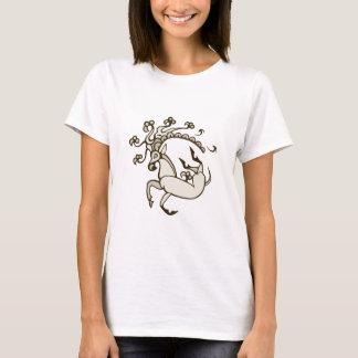 Pazyryk Deer Womens Dark Design T-Shirt