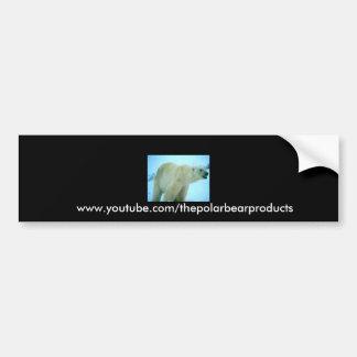 pb11[1], www.youtube.com/thepolarbearproducts bumper sticker