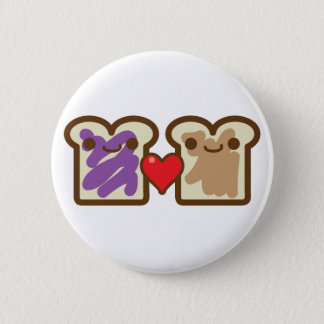 pb and j 2 inch round button