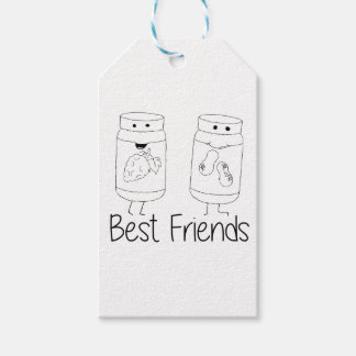 PB and J Best Friends Pack Of Gift Tags