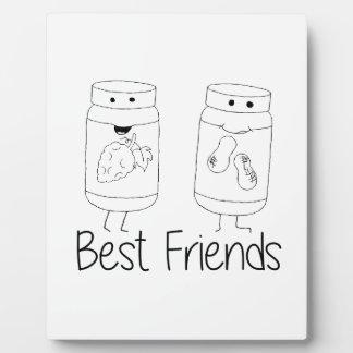 PB and J Best Friends Plaque