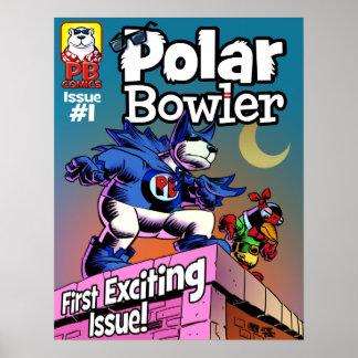 PB Comic Book Cover Poster