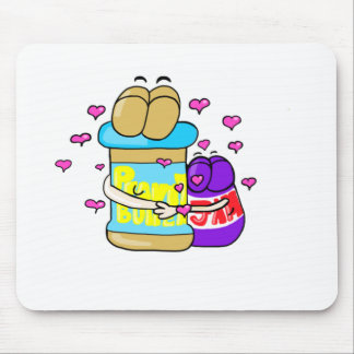 Pb&j Bestfreinds graphic Mouse Pad