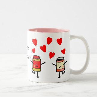 """""""PB&J Love"""" Mug"""