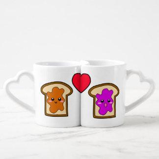 PB & J Lovers' Mugs Lovers Mug Sets