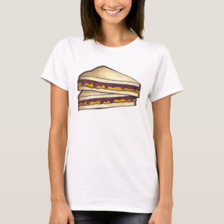 PB&J Peanut Butter and Jelly Sandwich T-Shirt