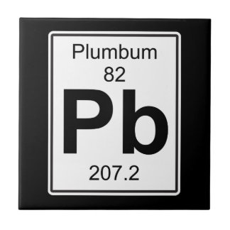 Pb - Plumbum Ceramic Tile