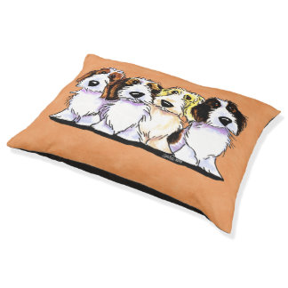 PBGV Pals Large Dog Bed