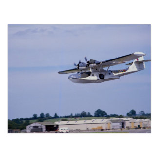 PBY, 5A Catalina, World War II reconnaissance flyi Postcard