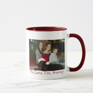 PC090017, We Love You, Grammy! Mug