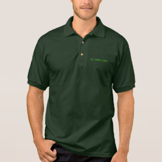 pc-werx jersey polo dark green