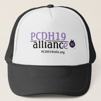 PCDH19 Alliance Logo Trucker Hat