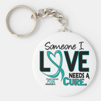 PCOS Needs A Cure 2 Keychain