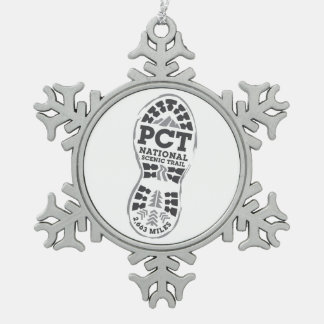 PCT SNOWFLAKE PEWTER CHRISTMAS ORNAMENT