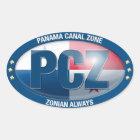 PCZ – Panama Canal Zone: Zonian Always, Sticker