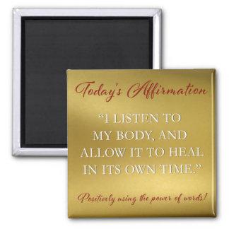 PD Affirmation Magnet Healing #1