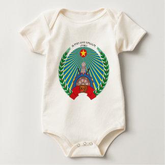 PDR_Ethiopia_emblem Baby Bodysuit