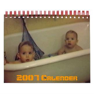 PDVD_017, 2007 Calender Calendar